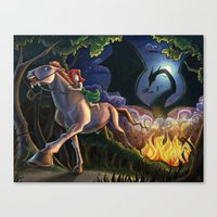 Escape Canvas Print