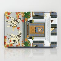 Autumn leaf game iPad Case