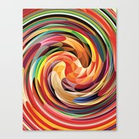Colors Canvas Print