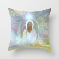 Be At Peace By Sherri Of… Throw Pillow