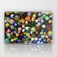Vintage Marbles Laptop & iPad Skin