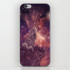 Wolf And Sky iPhone & iPod Skin