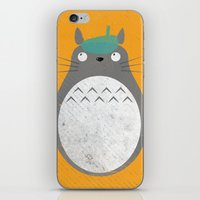 Homenaje a Totoro iPhone & iPod Skin