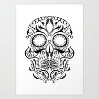 Day Of The Dead Skull No… Art Print