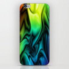 Rainbow Colors Soft Silk iPhone & iPod Skin