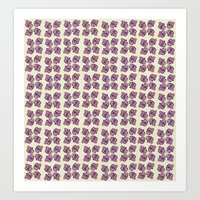 Floral Abstract Pattern Art Print