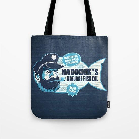 Haddock's Natural Fish Oil Tote Bag