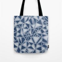 Abstract Outline Lines N… Tote Bag