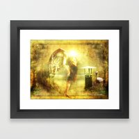 Angel Spirit Framed Art Print