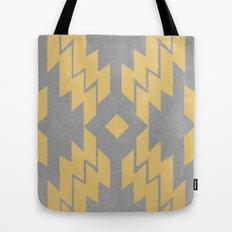 Concrete & Aztec Tote Bag