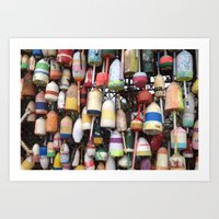 Colors On The Water Art Print
