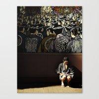 Tokyo Graffiti Canvas Print