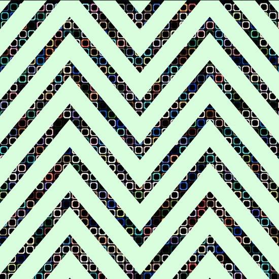 chevron pattern #2 Art Print