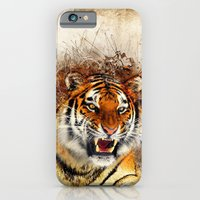 iPhone Cases featuring Fierce by Robin Curtiss