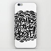 YOU'RE THE BEST iPhone & iPod Skin