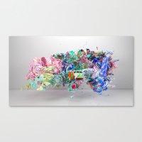 Colour Form & Expression #6 Canvas Print