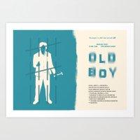 Old Boy Art Print