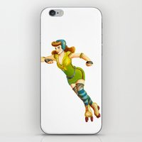 Derby Girl iPhone & iPod Skin
