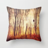 The Art Of Falling Apart Throw Pillow