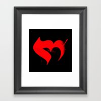 Hobb Framed Art Print