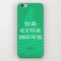 Beneath the tree iPhone & iPod Skin