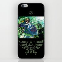 The Lost Woods iPhone & iPod Skin
