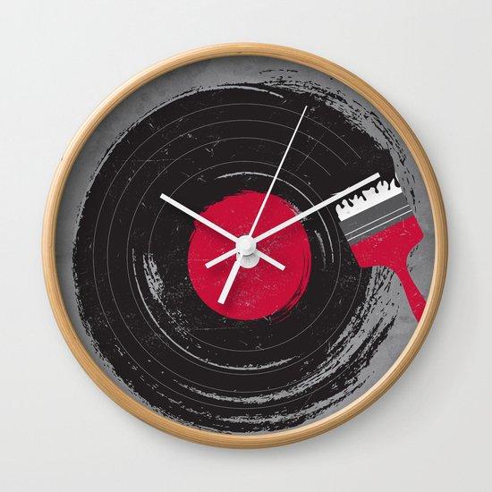 Art Of Music Wall Clock By Dan Elijah G Fajardo Society6