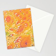 Sunflowers Summer Botanical Stationery Cards