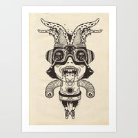 Super Acid Deformed Art Print