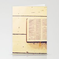 Reading The Psalms Stationery Cards