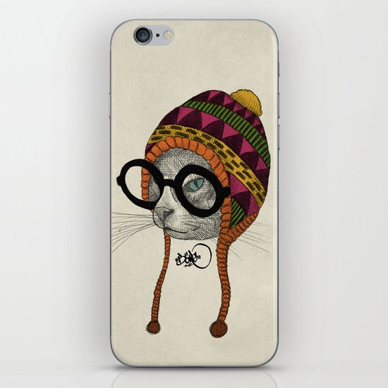 foolishness is in the eye of the beholder iPhone & iPod Skin