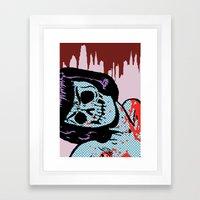 The Postmodern Dead: Lana Framed Art Print