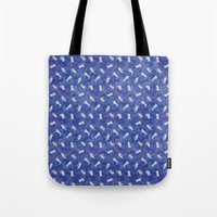 Space Astronauts Tote Bag