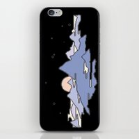MOUNTAINS IN THE SKY iPhone & iPod Skin