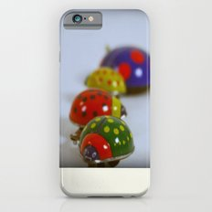 Vintage Lady Bird Family iPhone 6 Slim Case