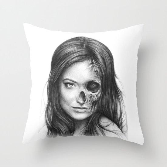 Thirteen Throw Pillow