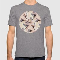 Sparrow Flight Mens Fitted Tee Tri-Grey SMALL
