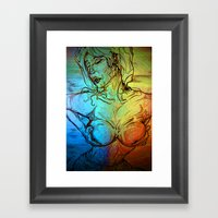 The Right Angle Framed Art Print