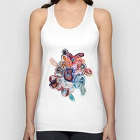 Earth's Loveliness, Agate Collection Unisex Tank Top