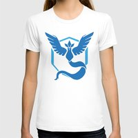 Mystic Womens Fitted Tee White SMALL