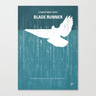 No011 My Blade Runner Mi… Canvas Print