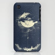 iPhone & iPod Case featuring MOON CLIMBING by Los Tomatos