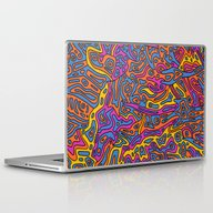Laptop & iPad Skin featuring - Songe - by Magdalla Del Fresto