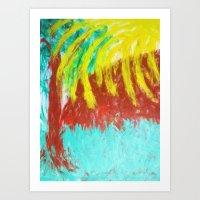 Tree of Hands Art Print