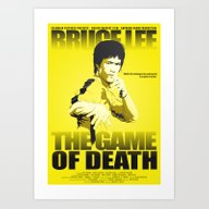 The Game Of Death Art Print