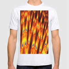firebodies with blue eyes Mens Fitted Tee Ash Grey SMALL