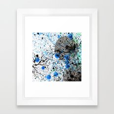 Ink & Bubbles Framed Art Print