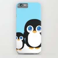 iPhone & iPod Case featuring Adorable Penguins by Adorableinc