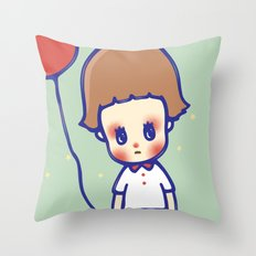 gone Throw Pillow