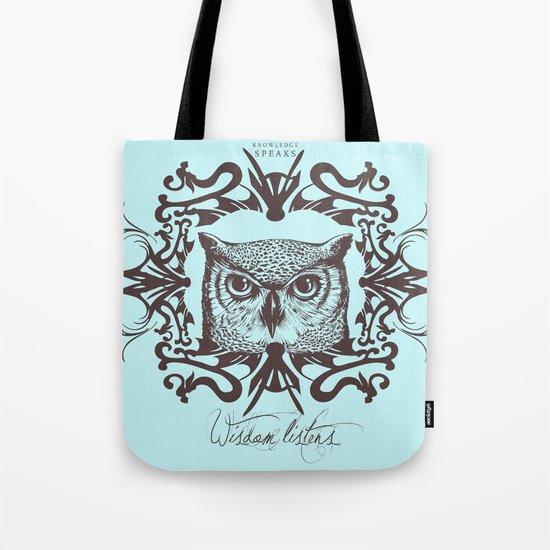 Wisdom Listens Tote Bag